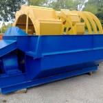 Recuperator nisip cu 2 cuve 750mm + 500 mm