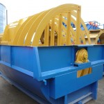 Bucket recovery and dewatering machinery with 2 wheels 560 mm