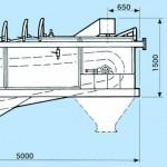 Separator hidraulic pentru materiale lejere